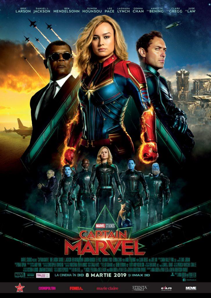 Trăiește din plin primul film Marvel cu o supereroină în rol principal, în formatele IMAX și 4DX