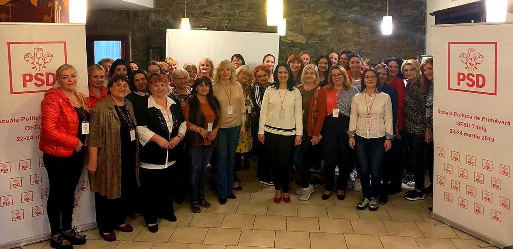 OFSD Timiș o susține pe Viorica Dăncilă la candidatura pentru alegerile prezidențiale