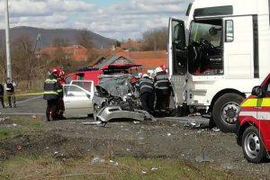 Atenție, şoferi! Circulație întreruptă pe DN7 la Bujuc, județul Hunedoara