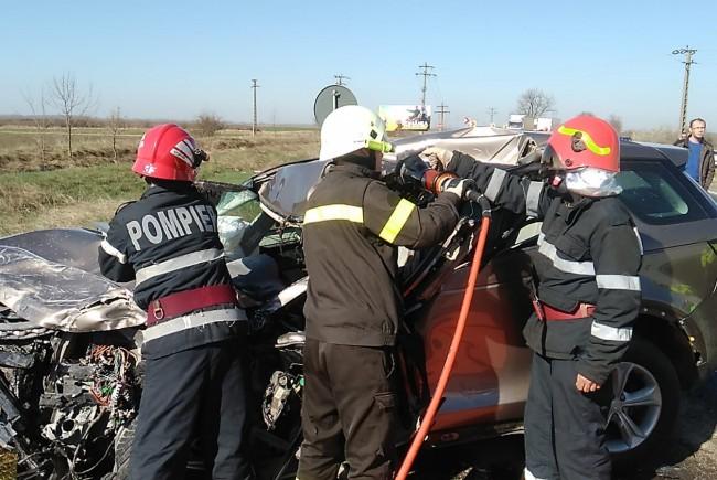 Accident mortal pe DN 7, între Pecica și Nădlac