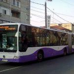 Mai multe mijloace de transport vor circula deviat duminică