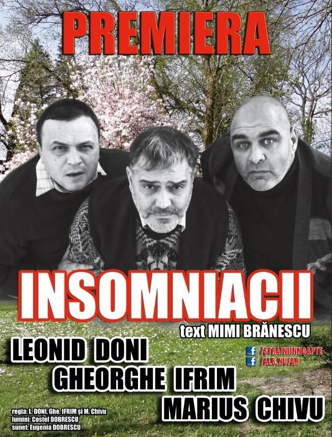 Insomniacii, din Las Fierbinți pe scena Operei timişorene