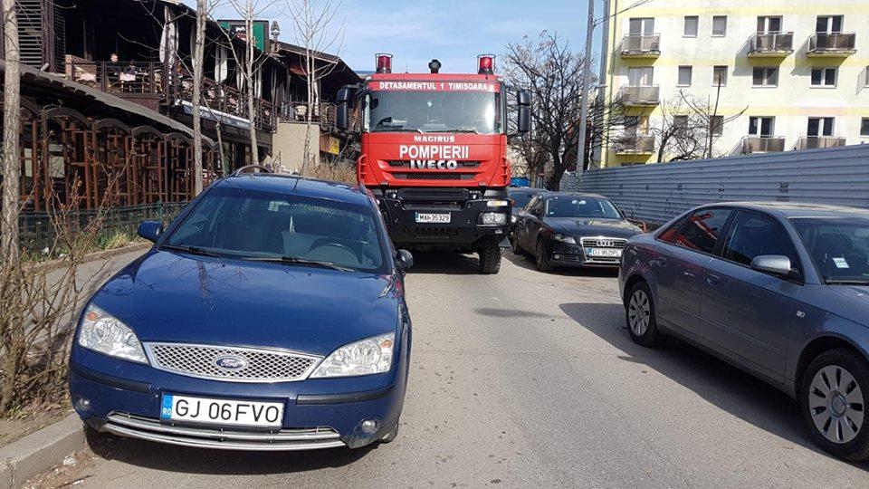Pompier din Lugoj, infectat cu Covid-19