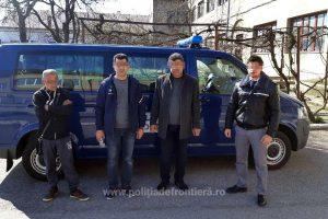 Doi turci şi o călăuză bulgară, depistaţi la Nădlac