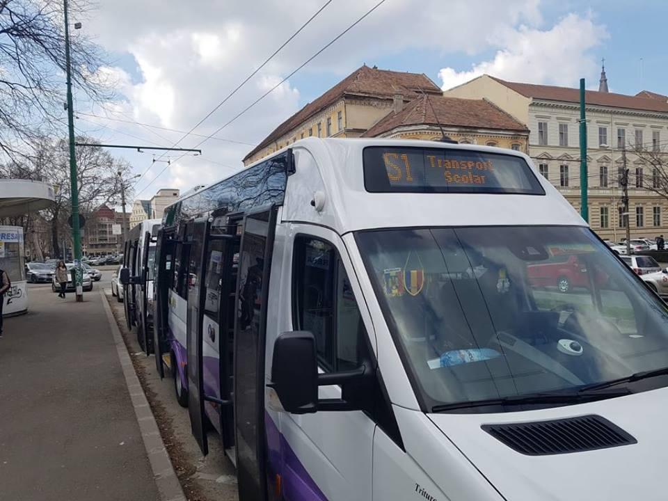 Traseul liniei de transport școlar S3 va fi prelungit