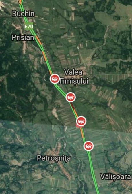 Atenţie, şoferi! Circulație închisă pe DN 6 în județul Caraș-Severin