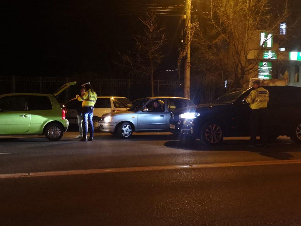 Razie în trei oraşe din Timiş. Poliţia a dat amenzi de zeci de mii de lei
