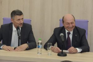 Traian Băsescu deschide lista PMP pentru alegerile europarlamentare