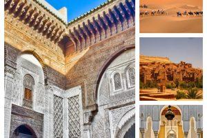 MAROC, între nisipurile, grădinile și palatele Africii de Nord