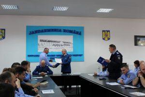 Înaintări în grad de Ziua Jandarmeriei Române