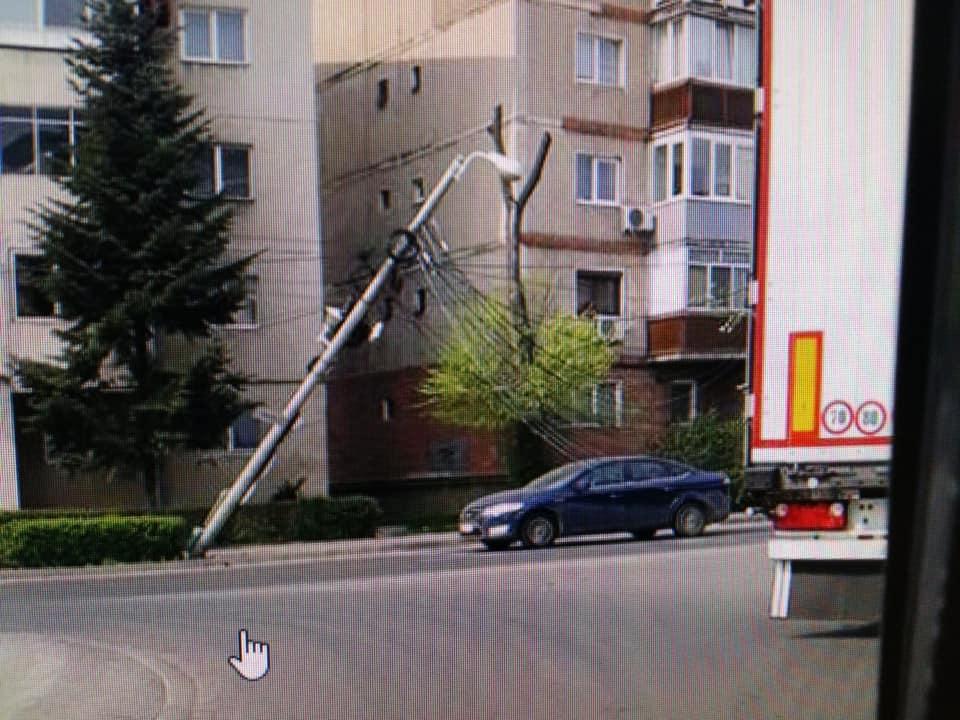 Incident în cartierul Fabric din cauza cablurilor aeriene
