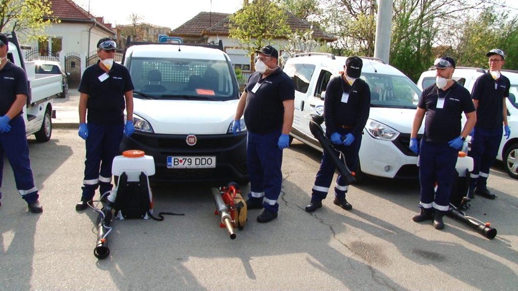 O nouă etapă de deratizare la Timișoara