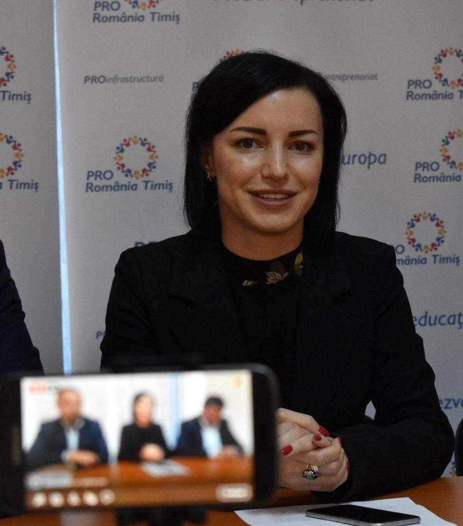 Roxana Iliescu va fi coordonatorul organizației municipale PRO România