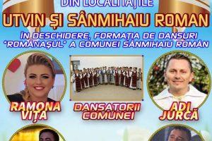 Artişti de renume cântă la Ruga Bănățeană de la Sînmihaiu Român