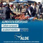 Deputatul Marian Cucșa, președintele ALDE Timiș: Pentru că încurajez consumul de produse autohtone, în mandatul meu, am inițiat și susținut legi care vin în sprijinul fermierilor români!