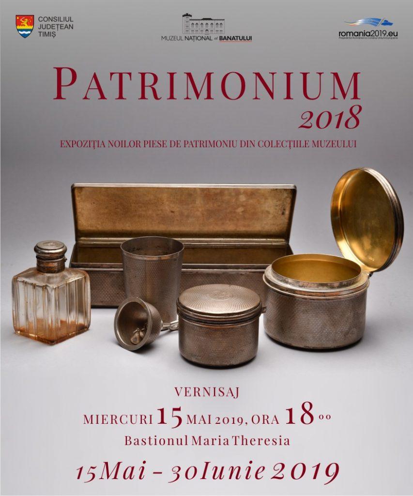 Patrimonium 2018, o nouă expoziţie la Muzeul Banatului