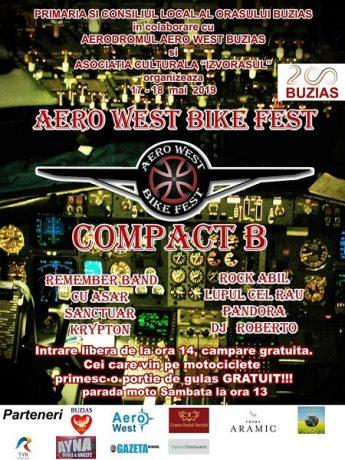 Muzică rock, gulaş şi paradă moto la Aero West Bike Fest, în weekend, la Buziaş
