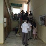 Cozi mari la secțiile de vot din Complexul Studențesc