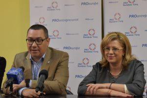 """Liderul Pro România, Victor Ponta la Timișoara: """"Nu am plecat de la PSD ca să ne întoarcem acolo, chiar dacă pleacă Dragnea"""""""