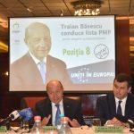 Traian Băsescu a venit la Timișoara