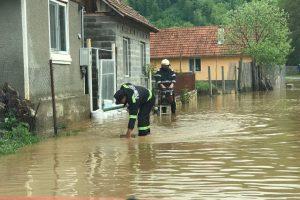 Cod galben de inundaţii în vestul ţării