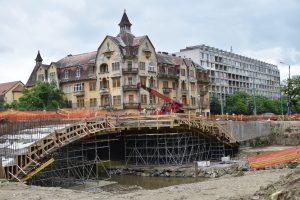 Deschiderea circulației rutiere pe podurile Dragalina și Eroilor, amânată din cauza vremii