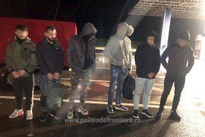 Şase irakieni, depistaţi la Nădlac II. Unde erau ascunşi