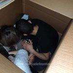 14 migranţi, ascunși în cutii de carton, într-un TIR, încercau să ajungă în Germania
