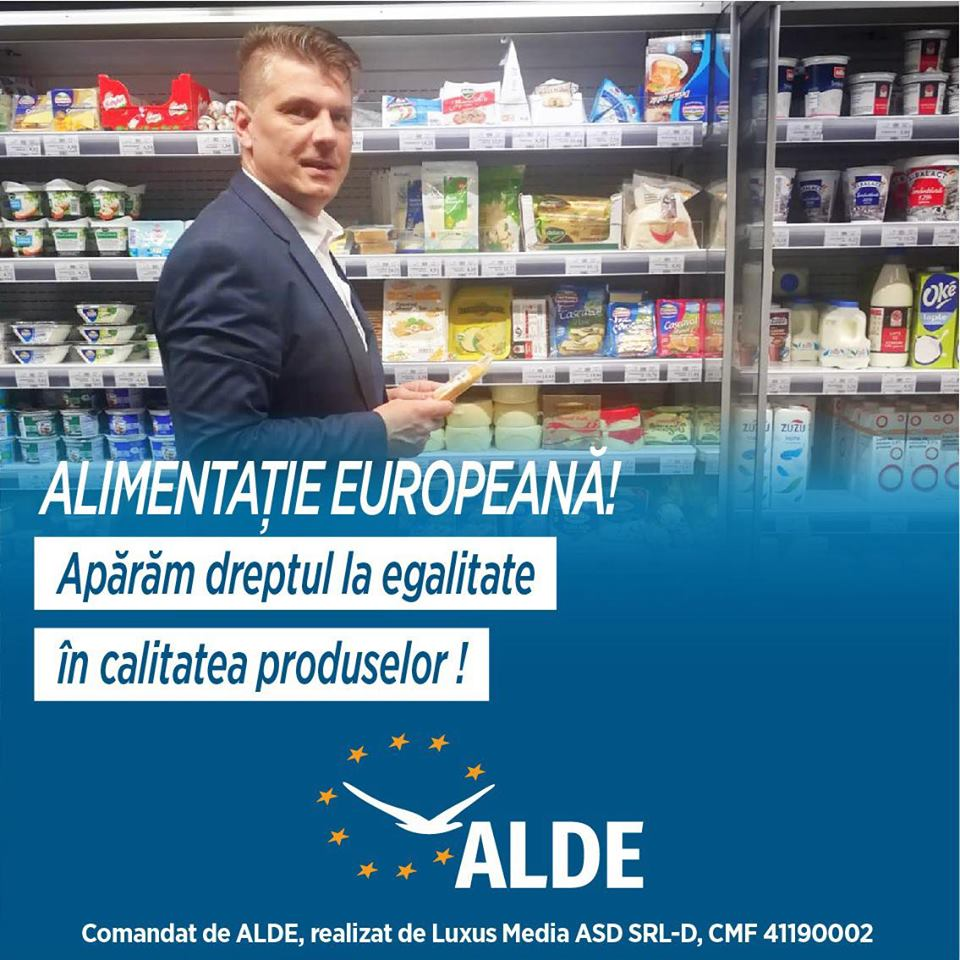 Candidatul ALDE la europarlamenare, secretarul de stat Ovidiu Sîrbu: Românii trebuie să aibă aceleași drepturi ca toți cetățenii Uniunii Europene!