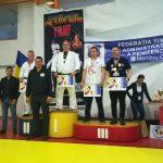 Polițiști timișeni pe podium la campionatul național de hand to hand fighting