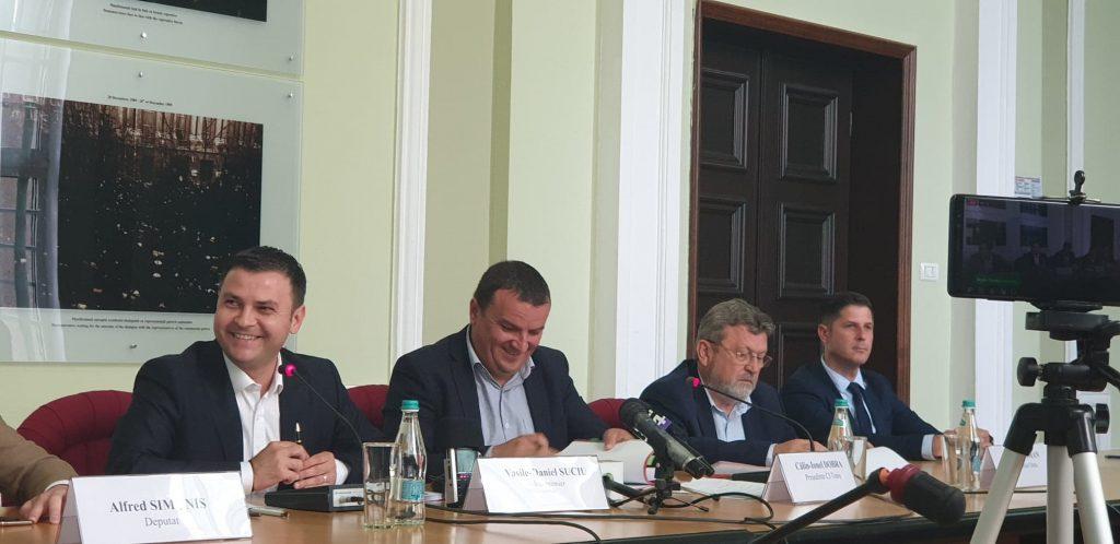 Patru contracte de 3 milioane de euro, prin POR, pentru dezvoltarea județului Timiș