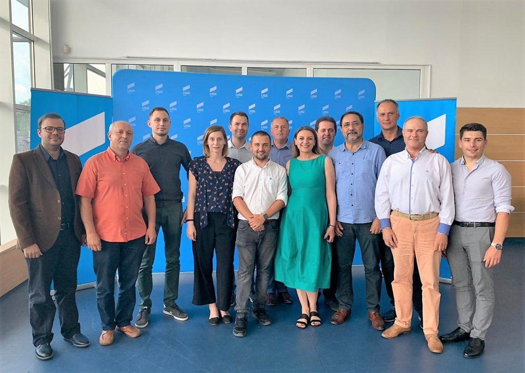 USR Plus, filiala Timiș, și-a desemnat candidații pentru parlamentare