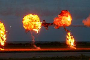 Acrobații fascinante cu avioane la Timişoara AIR Show