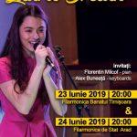 Laura Bretan revine în Timișoara, alături de doi invitați, pentru a susține un concert extraordinar