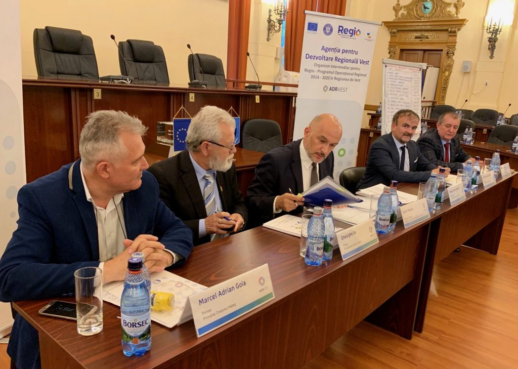 Investiții de peste 10 milioane de euro, prin Regio-POR, în judeţul Hunedoara