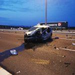 Groaznic accident pe autostradă. Doi oameni au murit, doi copii sunt în comă