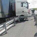 Circulație îngreunată pe A1, în urma unui accident