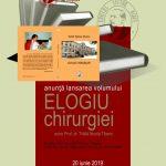 """Prof. dr. Nicola Trăilă îşi lansează cartea """"Elogiu chirurgiei"""""""