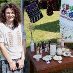 Târg cu vânzare de produse tradiționale la Margina