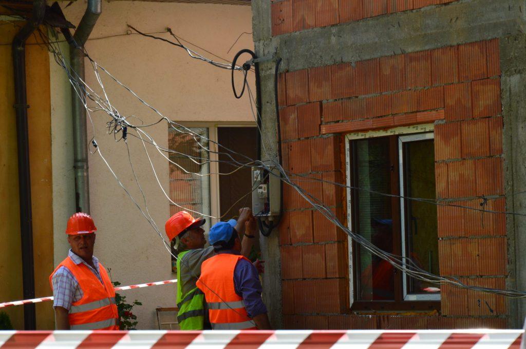 Construcţia ilegală din curtea Palatului cu Ancoră, demolată
