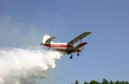 Dezinsecție terestră și aeriană la Giarmata