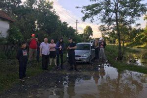Foto. Bilanţul inundaţiilor care au afectat judeţul Timiş