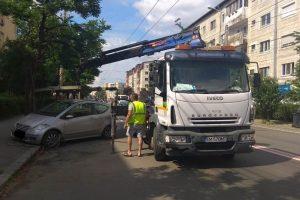 151 de amenzi date şoferilor și o mașină ridicată de pe Calea Martirilor