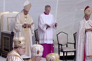 Papa Francisc i-a beatificat la Blaj pe cei şapte episcopi greco-catolici martiri