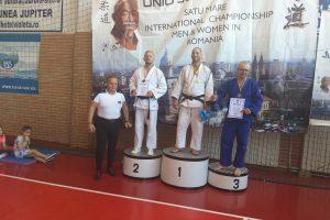 Polițist timișean premiat la Campionatul Internațional de Judo din Satu Mare