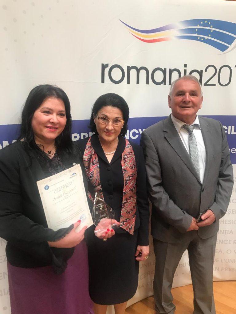 Colegiul Economic din Timișoara, desemnat Școală Europeană 2019-2022