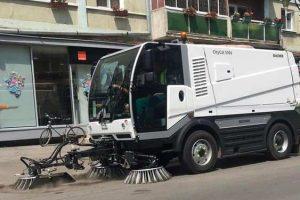 Continuă salubrizarea străzilor la Timişoara. Programul intervențiilor