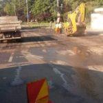 Strada Cluj, închisă pentru asfaltare