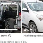Robu face sondaj: Sunteţi de acord cu taxi gratuit de la STPT pentru persoanele cu dizabilități?