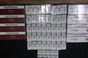 Jandarmii au confiscat ţigări în piaţa din Lugoj